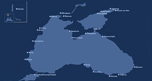 Πόλεις-λιμάνια της Μαύρης Θάλασσας (τέλη 18ου – αρχές 20ού αι.)