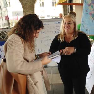 Φωτογραφικά στιγμιότυπα από τις εκδηλώσεις για την Ευρωπαϊκή Ημέρα Γλωσσών στο Koper