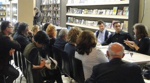 Συνάντηση με τον συγγραφέα Αιμίλιο Σολωμού (Ευρωπαϊκό Βραβείο Λογοτεχνίας 2013) και το βιβλίο του «ημερολόγιο μιας απιστίας»