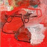 Βιβή Παναγιώτου, Άτιτλο, 2016 (120 x 50 εκ., λάδι)