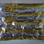 Διονύσης Χριστοφιλογιάννης, Emergency Thermal Blanket, 2016 (160 x 100 εκ., θερμοκουβέρτα εγκατάσταση)