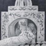 Ιωάννα Καφίδα, Dissimilar fate, 2016 (80 x 62 εκ., μολύβι σε χαρτί)