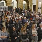 Φωτογραφικό στιγμιότυπο από τη συναυλία της Τέτης Κασιώνη και του Γιώργου Αθανασίου στο Ρουμανικό Ινστιτούτο Πολιτισμού (Φωτογραφία: Mihai Cratofil)