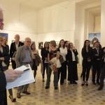 Σύντομος χαιρετισμός στα εγκαίνια της έκθεσης από τον Πρέσβη της Ελλάδος στη Ρώμη κ. Θεμιστοκλή Δεμίρη.