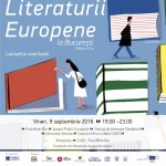 Η Νύχτα της Ευρωπαϊκής Λογοτεχνίας στο Βουκουρέστι, Παρασκευή, 9 Σεπτεμβρίου 2016.