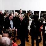«Πρόσωπα και χώροι» της Νέλλης Τραγουστή στο Παράρτημα Βερολίνου του Ελληνικού Ιδρύματος Πολιτισμού. Φωτογραφικό στιγμιότυπο από τα εγκαίνια της έκθεσης [12/2/2015].