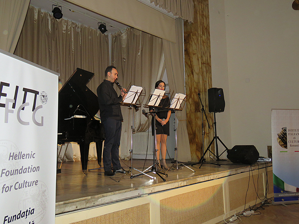 Φωτογραφικό στιγμιότυπο από τη συναυλία.