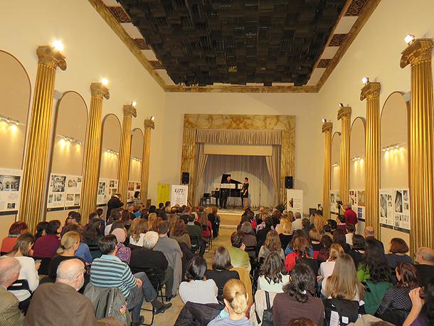 «Μουσικό Ταξίδι – Ελλάδα, Ιταλία και γύρω χώρες», Ρουμανικό Ινστιτούτο Πολιτισμού, 16 Νοεμβρίου 2016.
