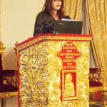 Παρουσίαση της έκδοσης από τη γραμματέα της Εστίας Ελλάδος Κύπρου του ΕΙΠ, κ. Μαρία Πιερίδου.