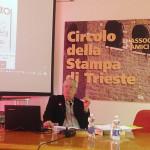 Ο καθ. Glauco Ciammaichella κατά τη διάρκεια της ομιλίας του.