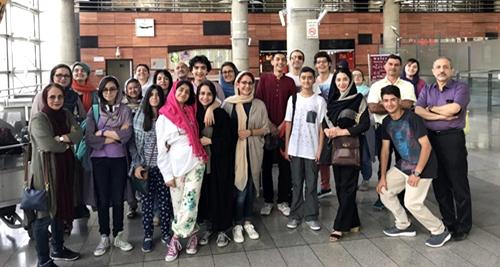 Ιρανοί φοιτητές στο Λύκειο Επιδαύρου