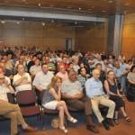Το κοινό κατά τη διάρκεια της συζήτησης.