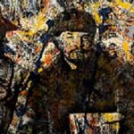 Νατάσσα Πουλαντζά, S.L.K.J.P. (Stalin.Lenin.Kalinin.Jackson.Pollock), 2014 (ψηφιακή εκτύπωση σε αρχειακό χαρτί, 95X200 εκ.).