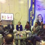Φωτογραφικό στιγμιότυπο από την εκδήλωση: «Ο Αραβικός πολιτισμός στο Ελληνικό μυθιστόρημα - Αλούζα, χίλιοι και ένας εραστές», Κυριακή, 28 Ιανουαρίου 2018.
