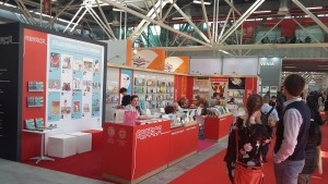 Το Ελληνικό Περίπτερο στη Διεθνή Έκθεση Βιβλίου της Μπολόνια, 26-29 Μαρτίου 2018.