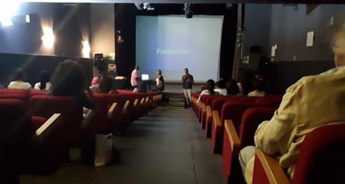 Tο IMMF 2018 στην Αλεξάνδρεια [Institut Français d'Egypte à Alexandrie].