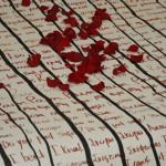 Κλίνη της Αϋπνίας (Λεπτομέρεια), Σινική Μελάνη σε Κινέζικο Χαρτί, 2011.