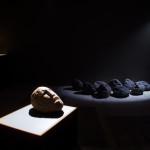 Αγαμέμνων Ι, ηφαιστειακή πέτρα, 2005 - Γαία, ηφαιστειακή πέτρα, 2008 - Γύψινα Κεφάλια, 2009, Εγκατάσταση.