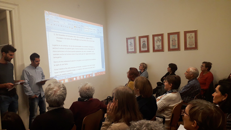 Φωτογραφικό στιγμιότυπο από την εκδήλωση.