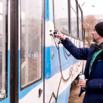 Η street art παίρνει το τραμ στο Βουκουρέστι.