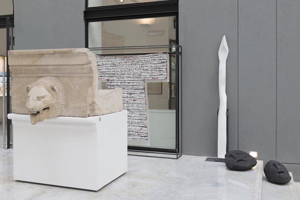 Βένια Δημητρακοπούλου. Αρχέγονο Μέλλον - Ύλη [Παλέρμο, Αρχαιολογικό Μουσείο, 16 Νοεμβρίου 2018 - 3 Φεβρουαρίου 2019].