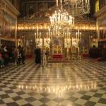 Φωτογραφικό στιγμιότυπο από την επίσκεψη στην Ελληνική Ορθόδοξη Εκκλησία του Αγίου Νικολάου.