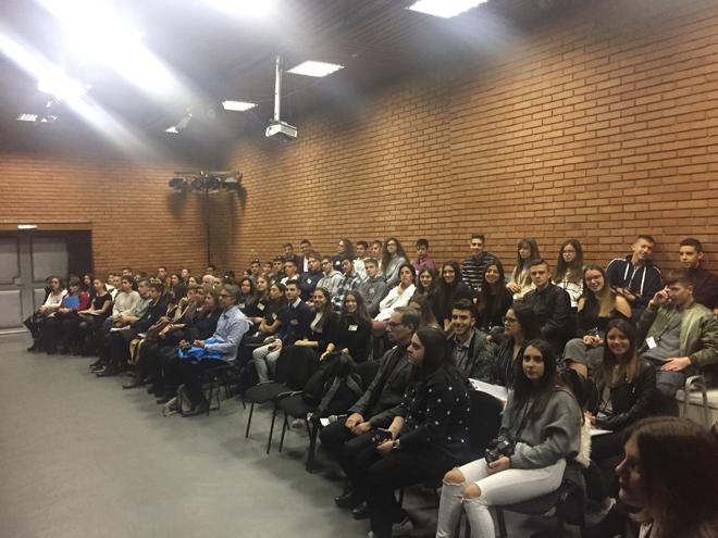 5° Ευρωπαϊκό Μαθητικό Συνέδριο, Βελιγράδι, 15-19 Νοεμβρίου 2018.