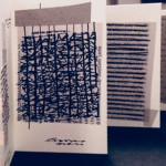 «Προσωπικές καταγραφές», 2010-2019, εγκατάσταση, 33 προθήκες: ημερολόγια, κείμενα, σχέδια, artist books, leporellos. (Άτιτλο, 2014).