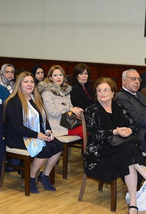 Φωτογραφικό στιγμιότυπο από την εκδήλωση για την Ελληνική γλώσσα στο Εθνικό Μεταφραστικό Κέντρο της Αιγύπτου, Τετάρτη, 6 Φεβρουαρίου 2019.
