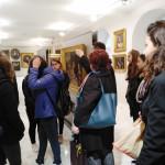 Από την επίσκεψη στο Μουσείο της Ελληνικής Κοινότητας Τεργέστης.