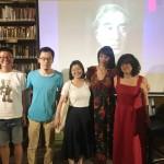 Με το πέρας της εκδήλωσης «Μιλώντας για Ιθάκες: Η πρόσληψη του Κ. Π. Καβάφη στην Κίνα», στο βιβλιοπωλείο Bookworm, στο Πεκίνο