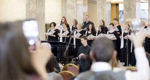 Φωτογραφικό στιγμιότυπο από τη συναυλία
