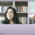 «Μεταφράσεις που μας σημάδεψαν»: Δύο μεταφράστριες συζητούν τόσο για μεταφράσεις που έκαναν οι ίδιες και τις σημάδεψαν όσο και για μεταφράσεις άλλων. Ομιλήτριες: Σταυρούλα Αργυροπούλου, μεταφράστρια, Μαρία Παπαδήμα, καθηγήτρια ΕΚΠΑ, μεταφράστρια. Τη συζήτηση συντόνισε η συγγραφέας Κατερίνα Μαλακατέ.