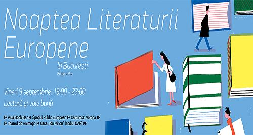 Cea de a V-A ediție a Nopții Literaturii Europene la București