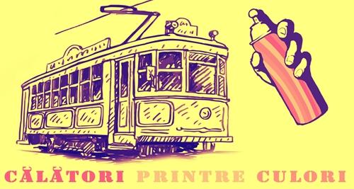 Arta urbană ia tramvaiul în Capitală