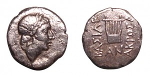 Coin from the Greek colony of ancient Olbia, near Odessa.