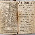 """A 1738 English edition of Aristotle's """"Compleat Master-piece."""" Public domain."""