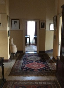 Interior of Cavafy's apartment, Cavafy Museum. HFC.