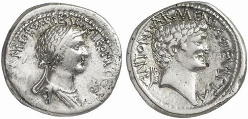 Mark Antony and Cleopatra.