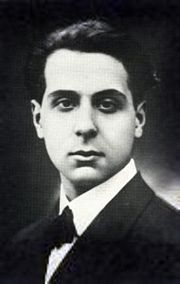 Seferis as a young man.