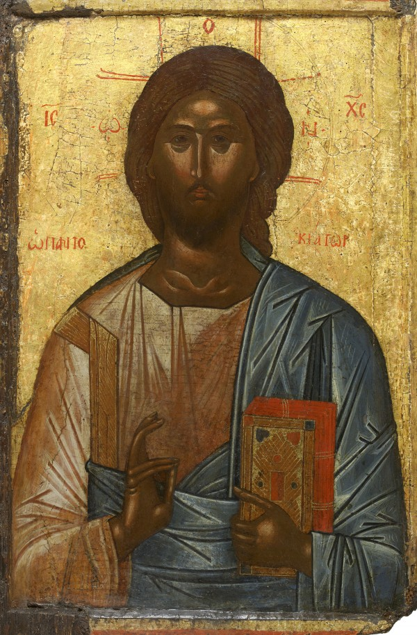 Pantocrator Icon, Greek, Temple Gallery, London.