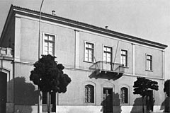 The house of Dekozis-Vouros, built in 1833-1834, in the district of Klafthmonos Square.