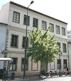 The house of Vlachoutzis, on 35, Peireos Street.