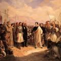 Lord Byron at Missolonghi, Theodoros Vryzakis, 1861.