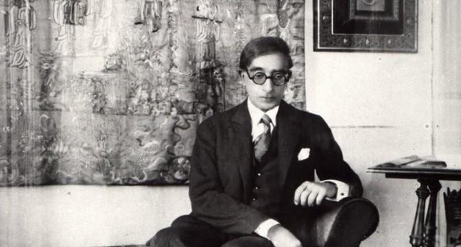 Photograph of Cavafy.
