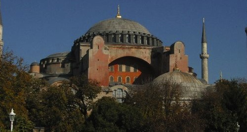 Hagia Sophia. Photo by Nina Aldin Thune.