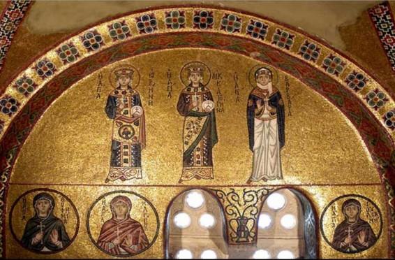 Mosaic Decoration – Hosios Loukas. Courtesy Hosios Loukas Monastery.