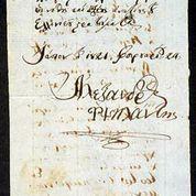 Document signed by Ypsilantis, Philike Etairia Museum. HFC.