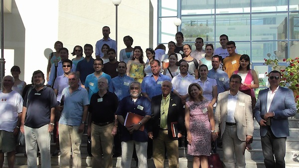 Participants in Summer Academy 2014 in Olympia. HFC.