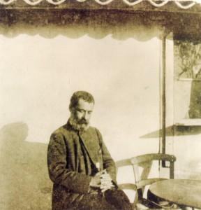Archive photo of Papadiamantis.